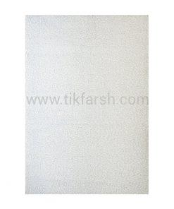 فرش شگی فلوکاتی سفید