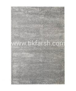فرش شگی فلوکاتی نقره ای