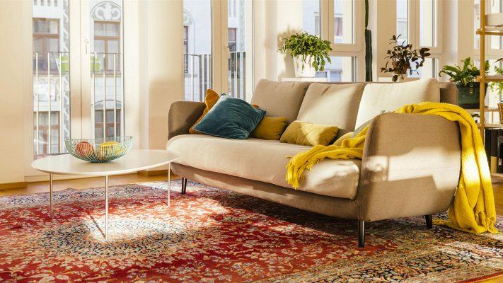 زیبایی فرش های ایرانی در دکسوراسیون های مدرن