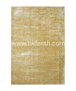 فرش شگی سه بعدی طلایی
