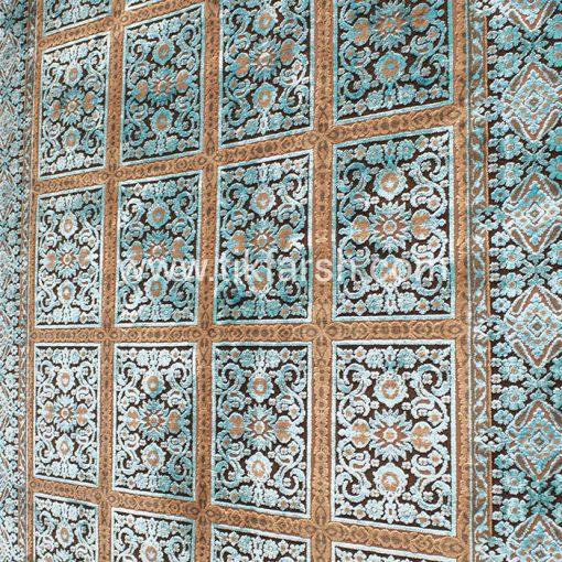 فرش ابریشمی کد A2044